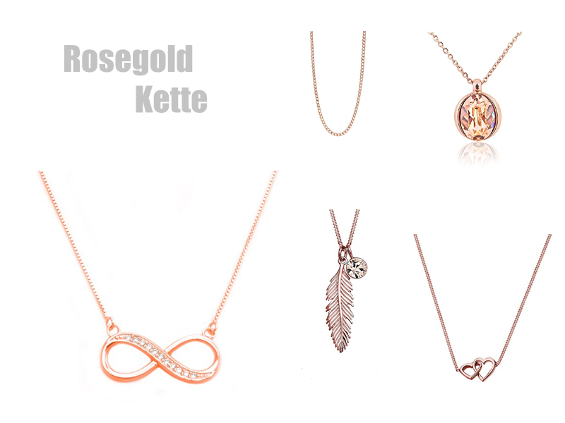Kette infinity rosegold