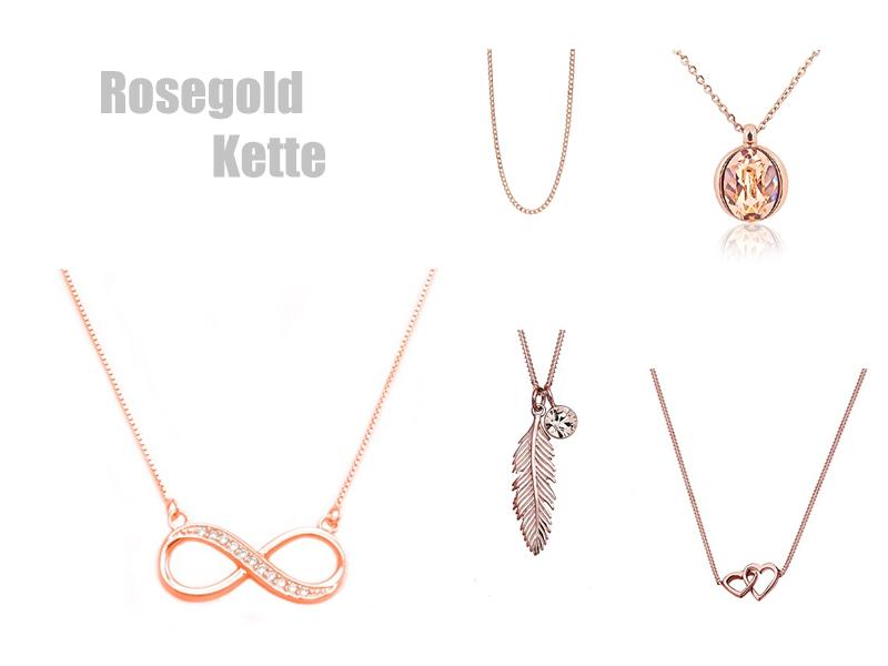 Kette Rosegold
